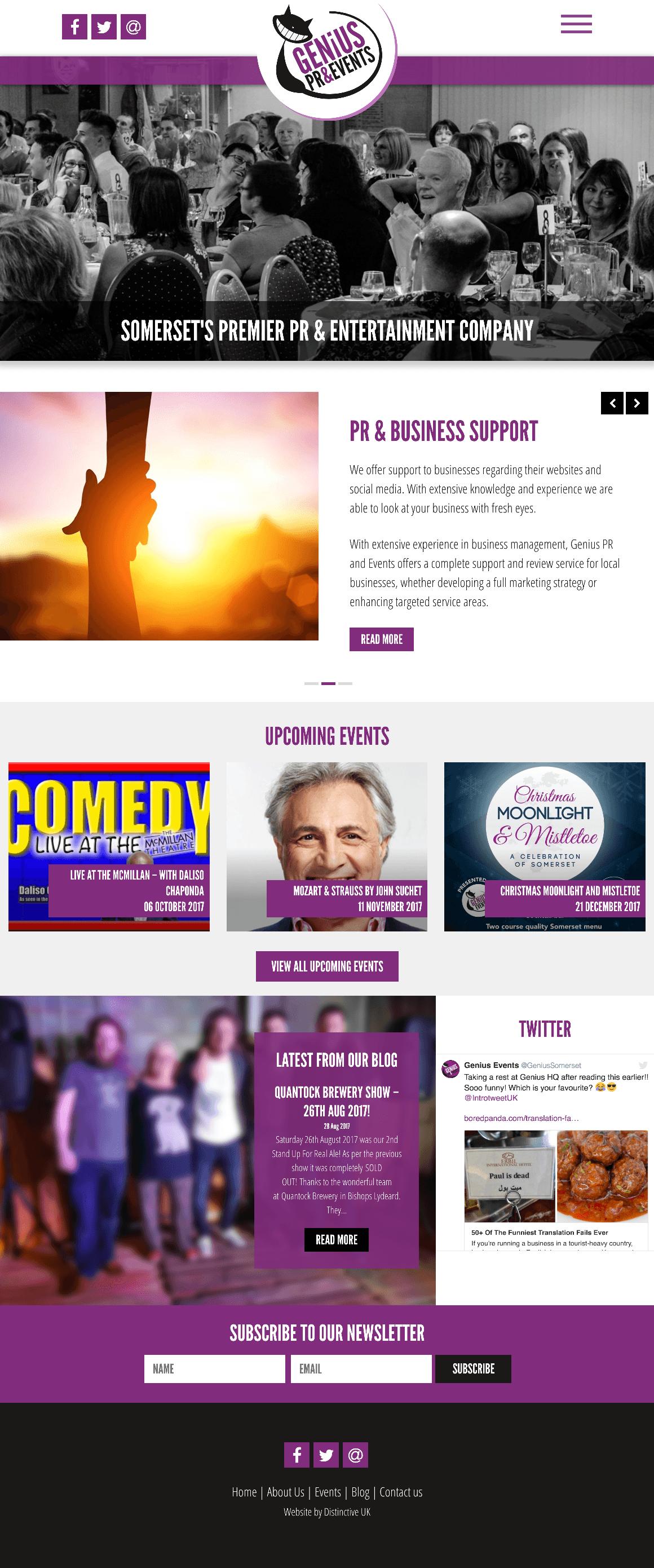 Genius PR & Events
